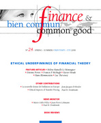 Finance & Bien Commun 2006/1