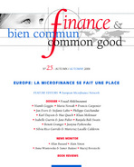 Finance & Bien Commun 2006/2