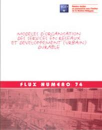« Modèle d'organisation des services en réseaux et développement (urbain) durable »