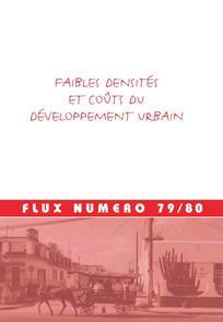 Faibles densités et coûts du développement urbain
