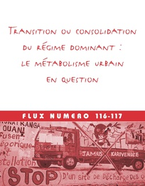 Transition ou consolidation du régime dominant : le métabolisme urbain en question