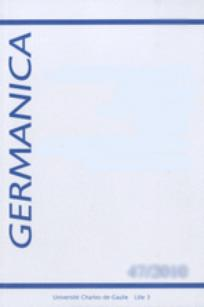 couverture de Germanica 2011/2