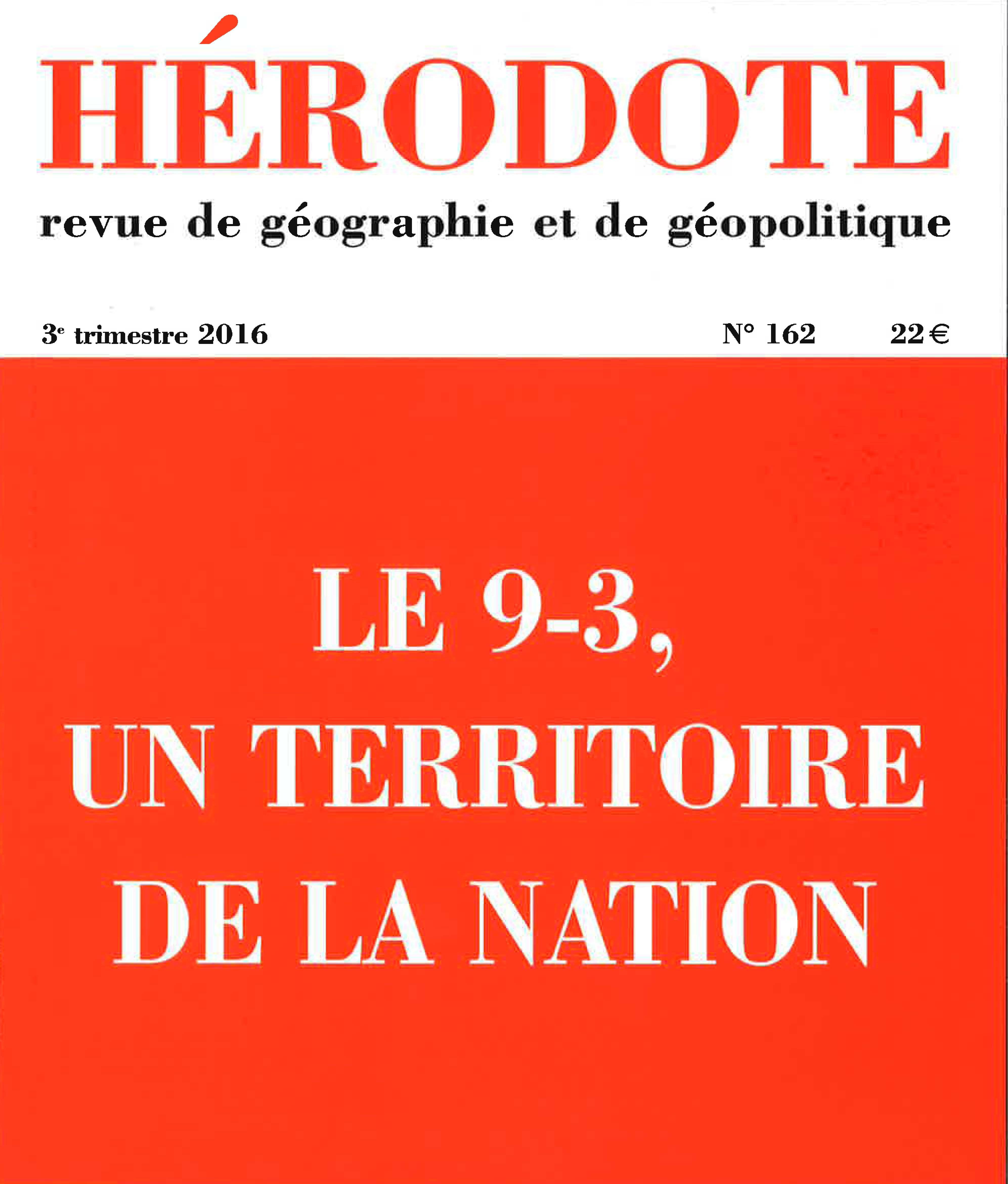 La fin du 9-3 ? La Seine-Saint-Denis entre représentations et métropolisations
