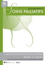 Revue internationale de soins palliatifs 2013/1