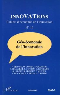 Géo-économie de l'innovation