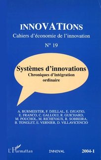 couverture de Innovations 2004/1