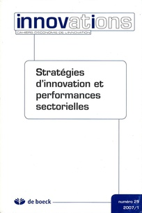 Stratégies d'innovation et performances sectorielles