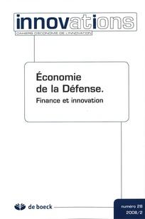 Economie de la Défense.