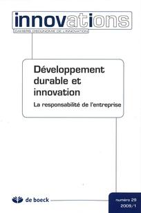Développement durable et innovation
