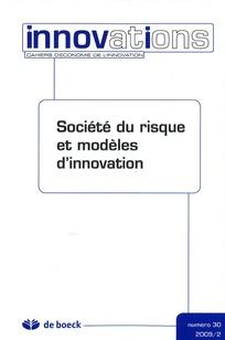 Société du risque et modèles d'innovation