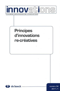 Principes d'innovations re-créatives