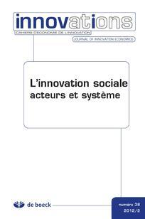 L'innovation sociale. Acteurs et Système