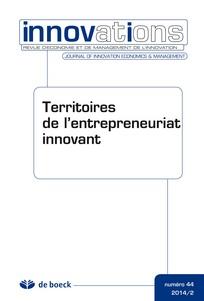Territoires de l'entrepreneuriat innovant