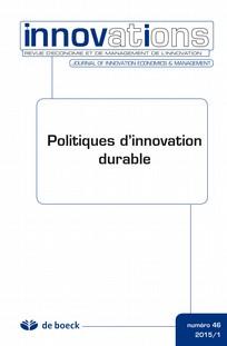 Politiques d'innovation durable