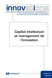 Capital intellectuel et management de l'innovation