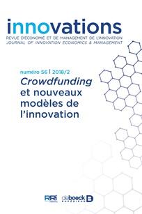 <i>Crowdfunding</i> et nouveaux modèles de l'innovation