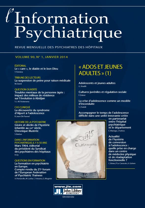 Adolescents Et Jeunes Adultes Cairn Info