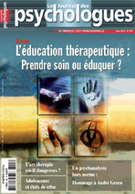 Le Journal des psychologues 2012/2