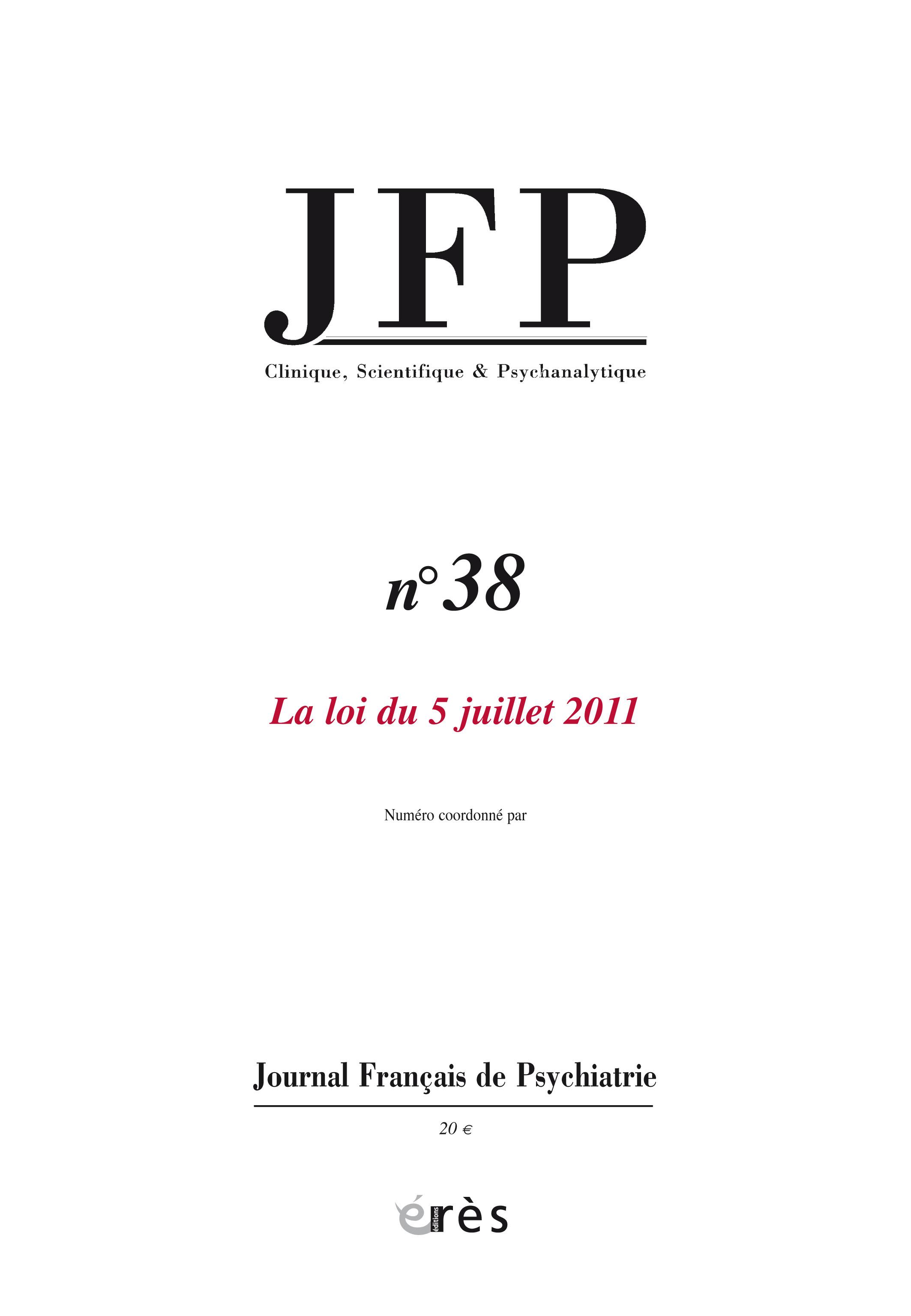 L\'application de la loi du 5 juillet 2011 par les juges des libertés ...