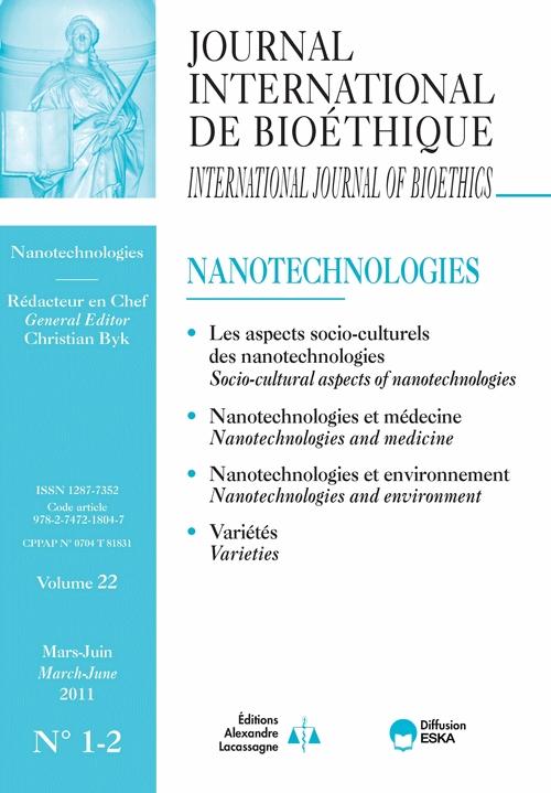 Chapitre 1 Nanotechnologies Bioethics And Human Dignity