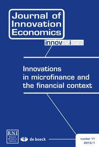 Innovations in microfinance and the financial context