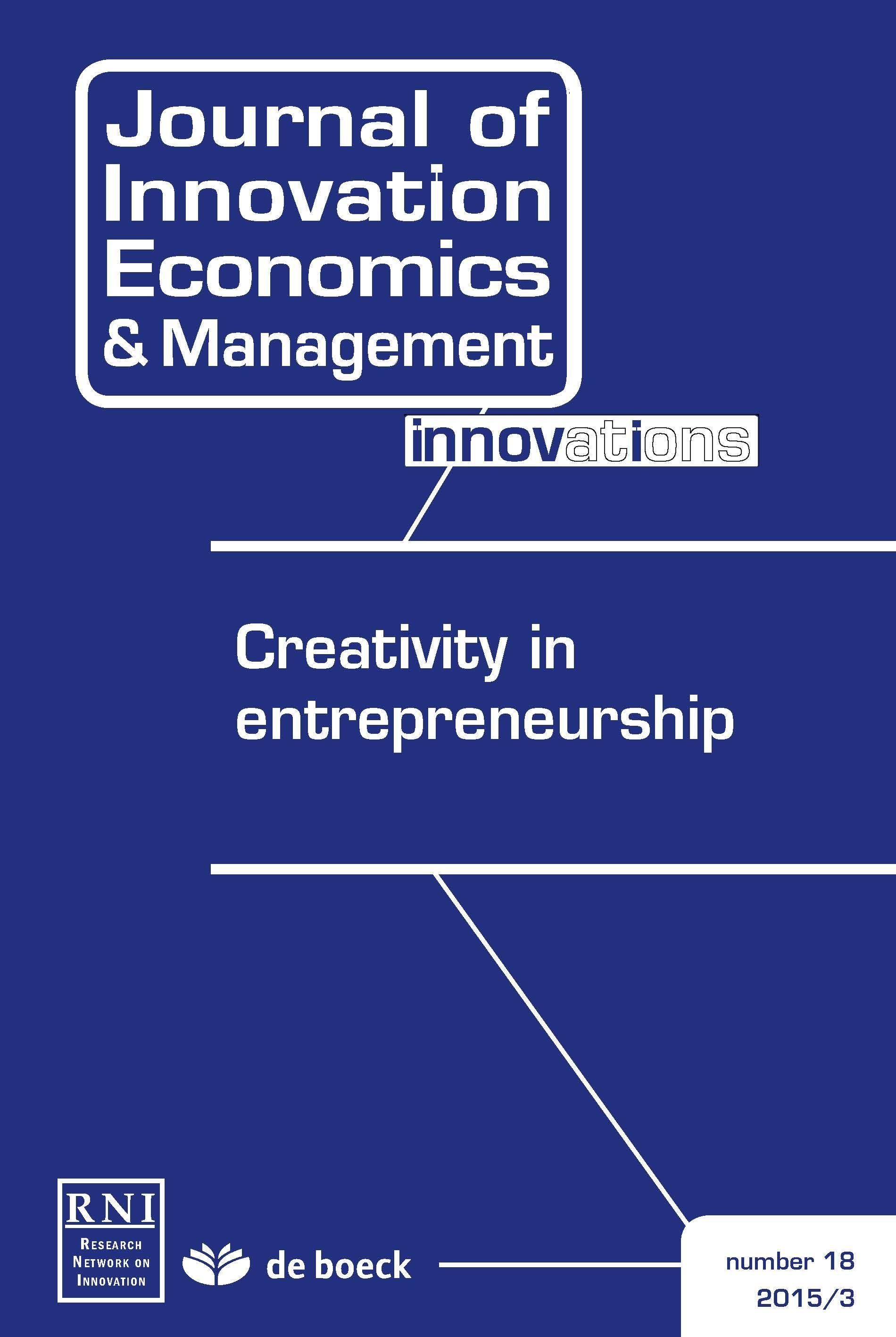 Corporate Entrepreneurship And Creativity In Large Firms The