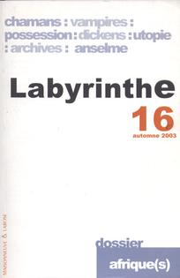 couverture de Labyrinthe 2002/2