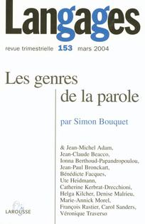 couverture de Langages 2004/1