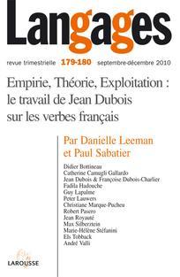 Elements Pour Un Lexique De La Complementation Des Nominalisations