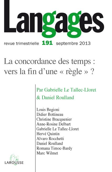 Les Discordances De La Concordance Cairn Info