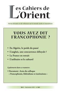 La France Lalgérie Et Le Français Cairninfo