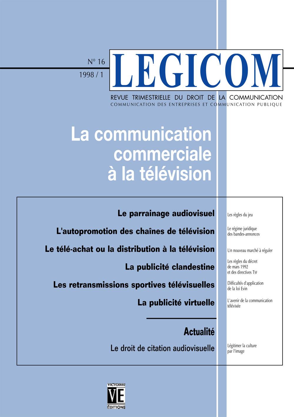 Le Droit De Citation Audiovisuelle Légitimer La Culture