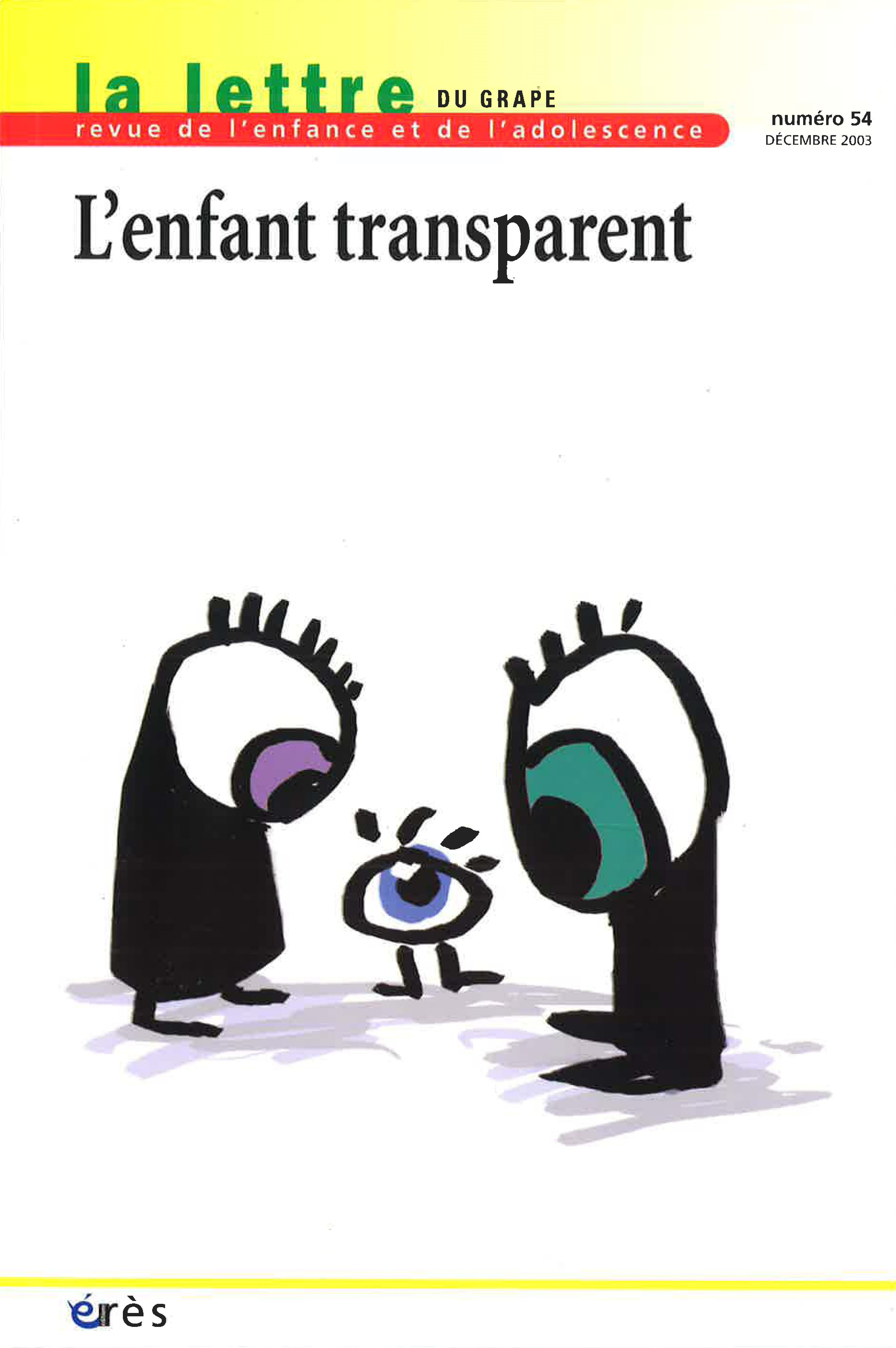 L Enfant Trans Parents Cairn Info