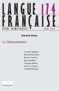 Sur Les Termes Grammaticaux Figurant Dans Les Dictionnaires De La