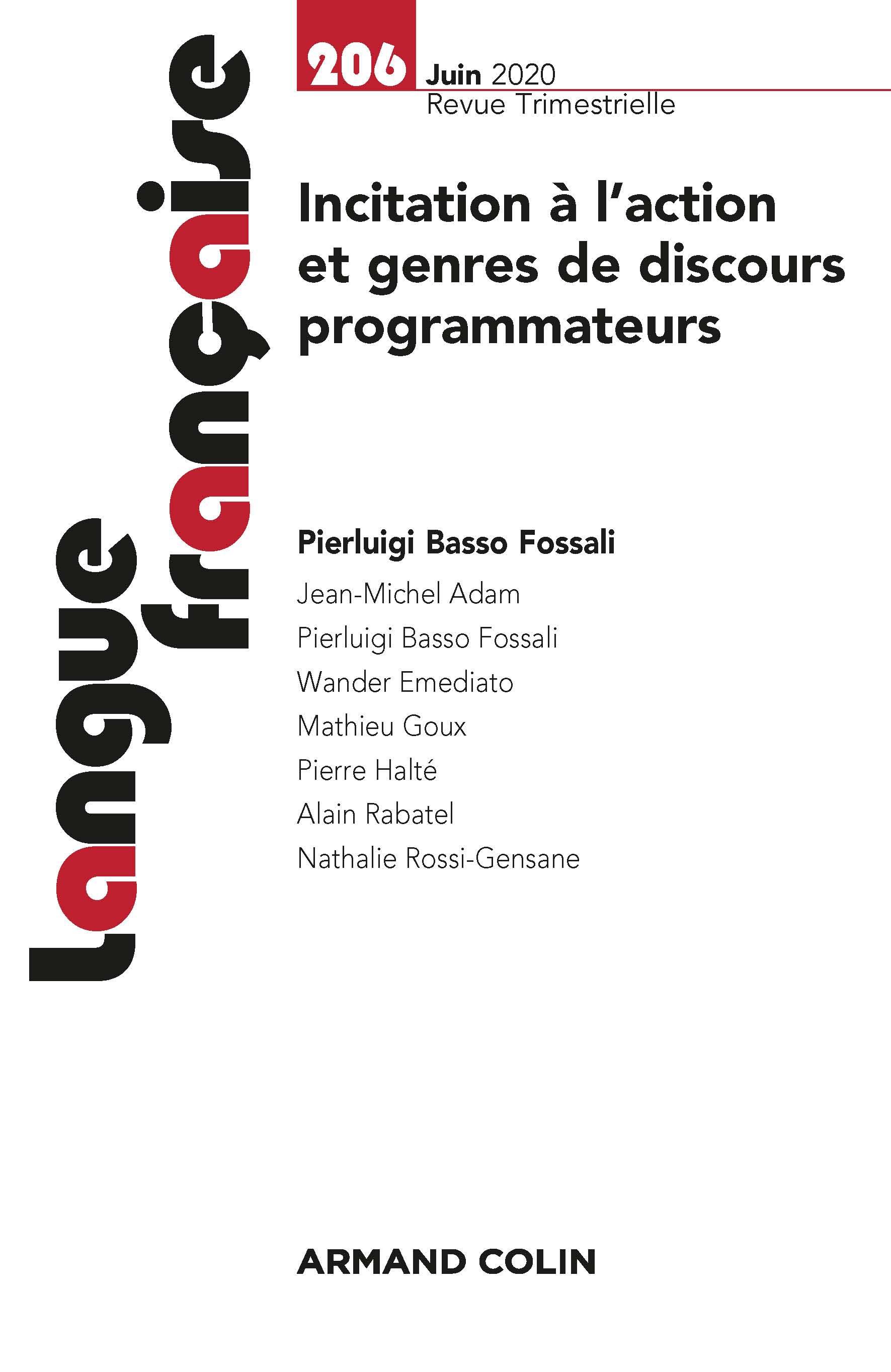 Discours Programmateurs Le Cas Des Recettes De Cuisine En Francais Classique Et En Francais Moderne Cairn Info