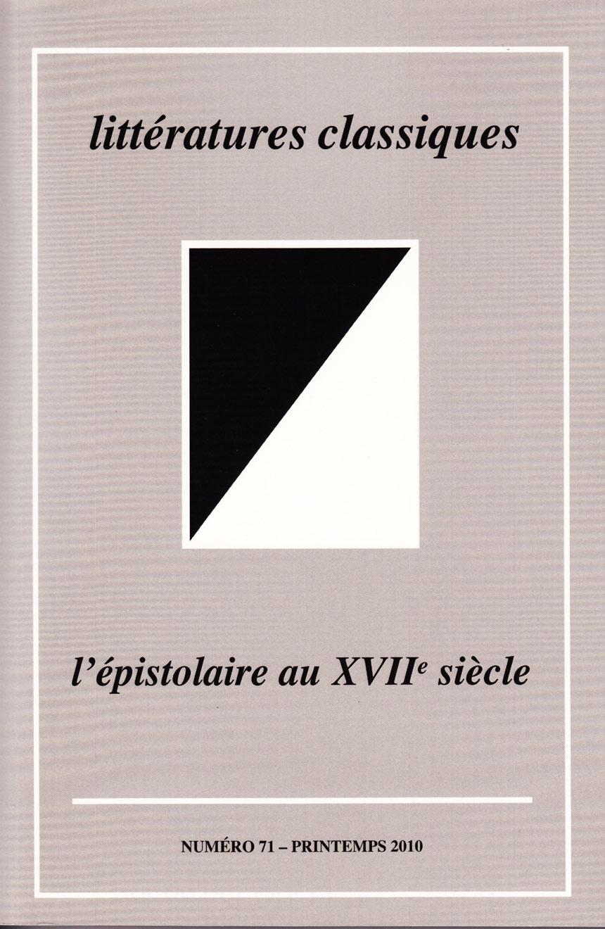 La Lettre Damour Féminine Au Xviie Siècle François De