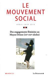 Des engagements féminins au Moyen-Orient (XX<sup>e</sup>-XXI<sup>e</sup> siècles)