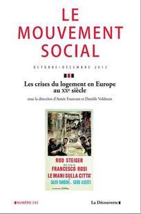 Les crises du logement en Europe au XX<sup>e</sup> siècle