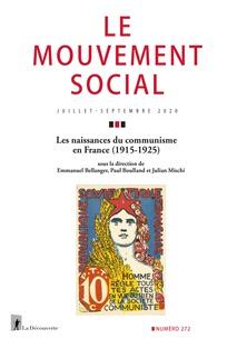 Les naissances du communisme en France (1915-1925)