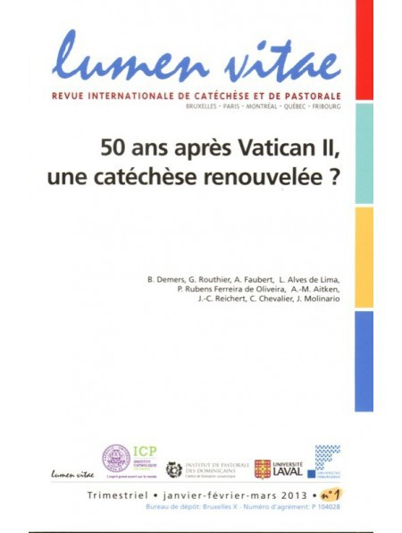Les Dimensions Initiatique Et Liturgique De La Catechese Cairn Info