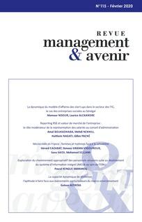 Vignette document Reporting RSE et valeur de marché de l'entreprise : le rôle modérateur de la représentation des salariés au conseil d'administration