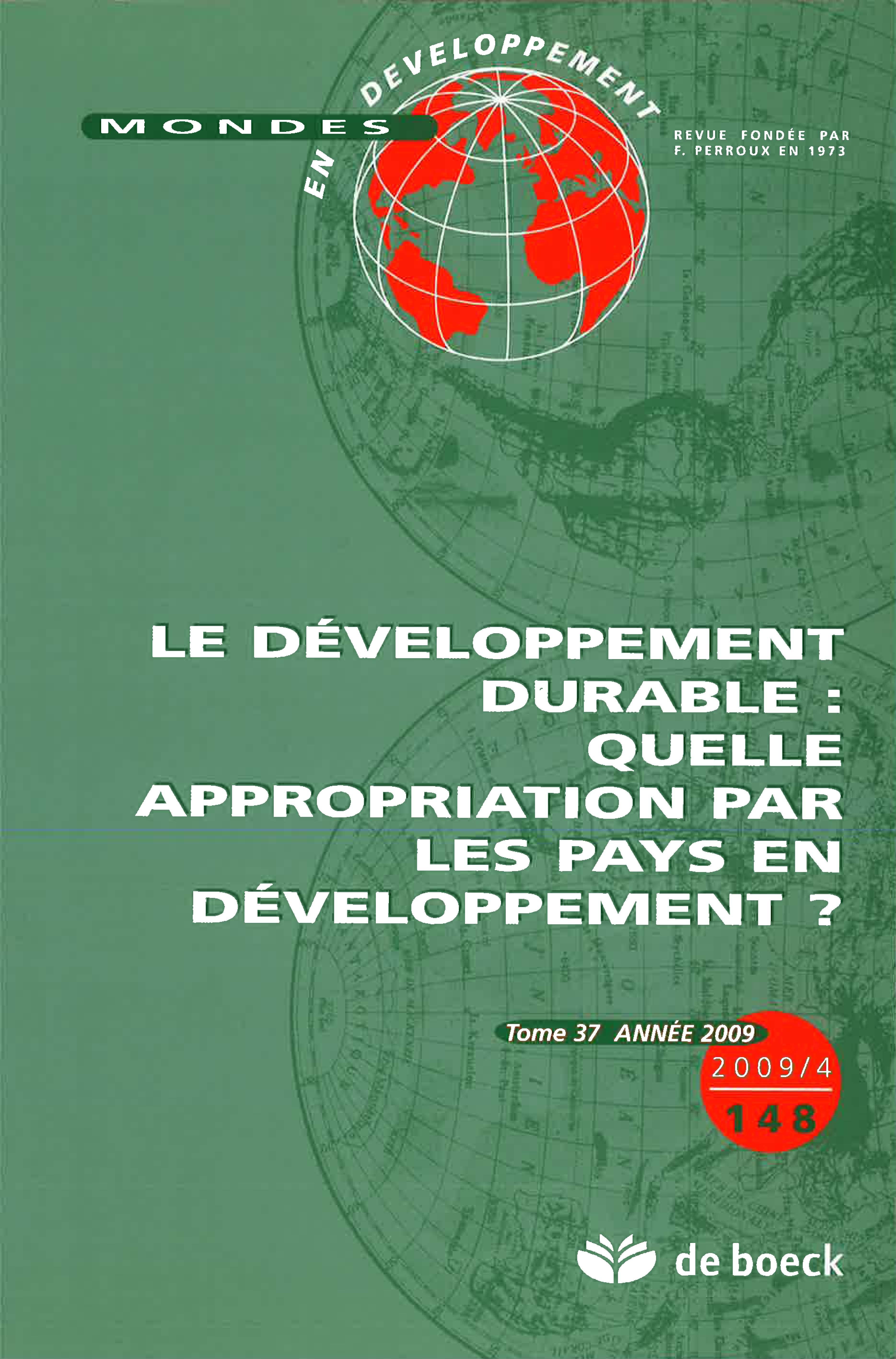 L Expérimentation Du Développement Durable à Madagascar
