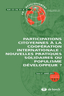 Participations citoyennes à la coopération internationale
