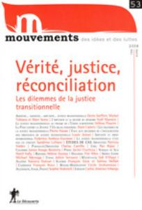 couverture de Mouvements 2008/1