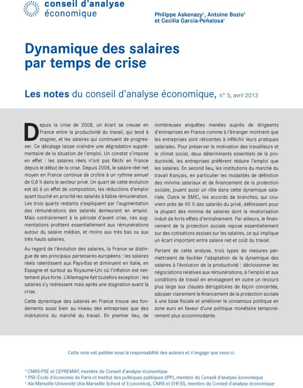 bcddbc8b002 Dynamique des salaires par temps de crise