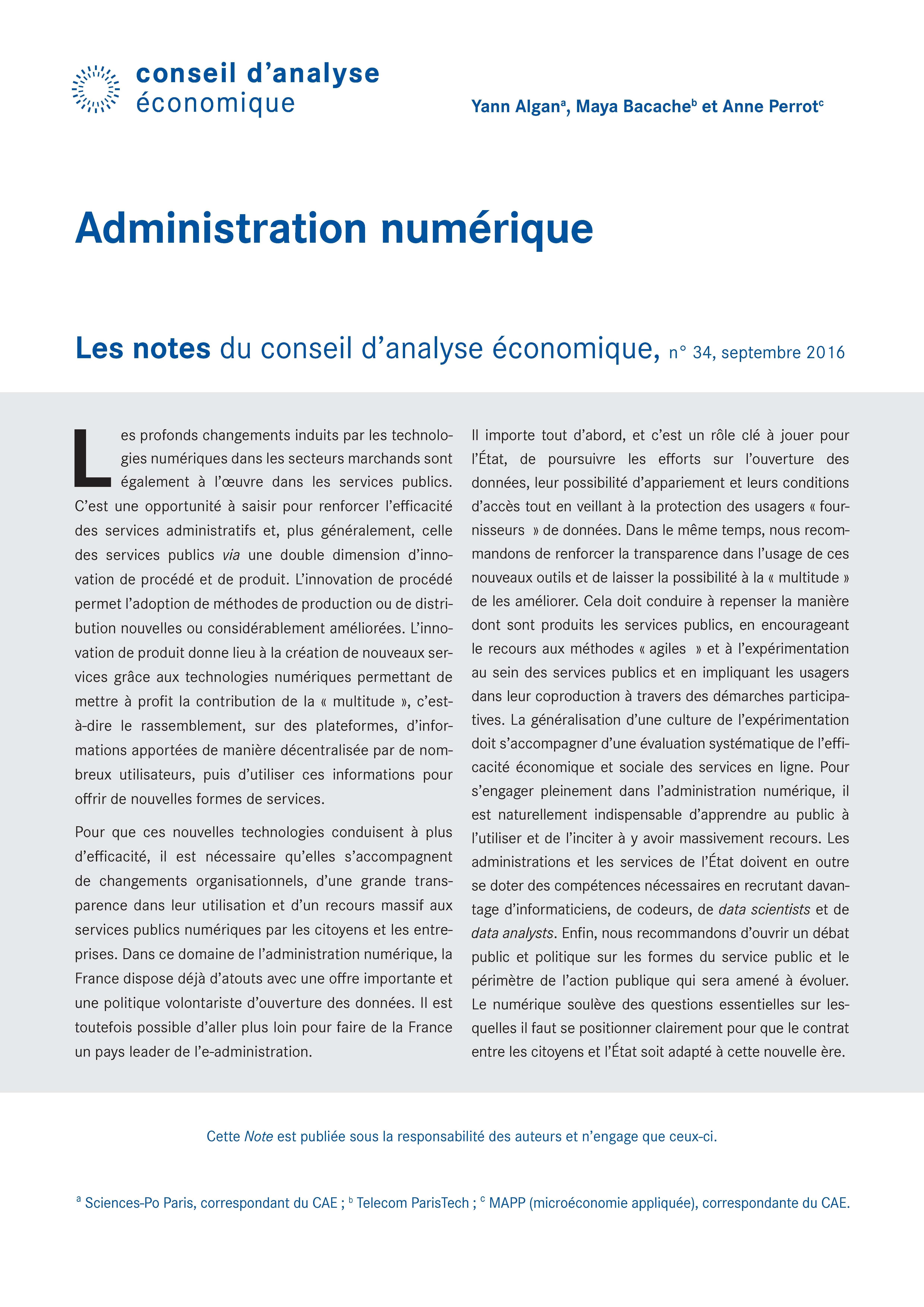 76cb5144584 Administration numérique