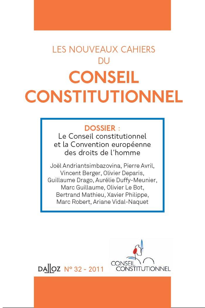 Conception La Des Et Constitutionnel Libertés Le Conseil Par srCQtdh