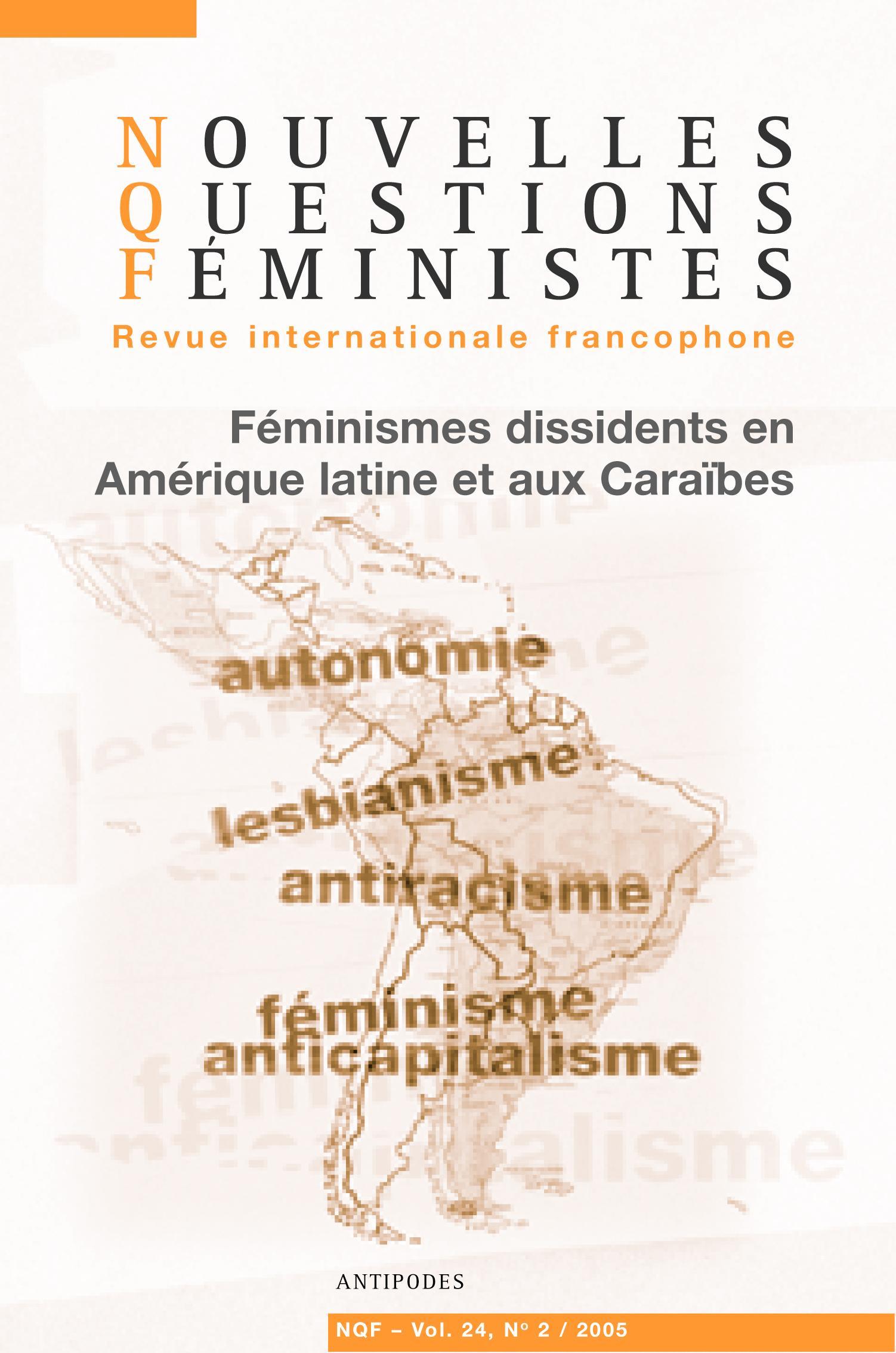 6939e330a8d3b Ialodês et féministes. Réflexions sur l action politique des femmes noires  en Amérique latine et aux Caraïbes