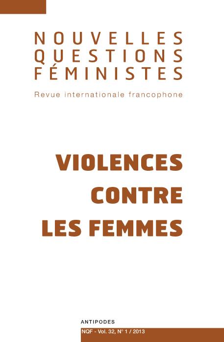 0452fba3051eb Violence des hommes contre les femmes   quelles avancées dans la production  des savoirs