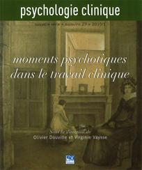 couverture de Psychologie Clinique 2010/1